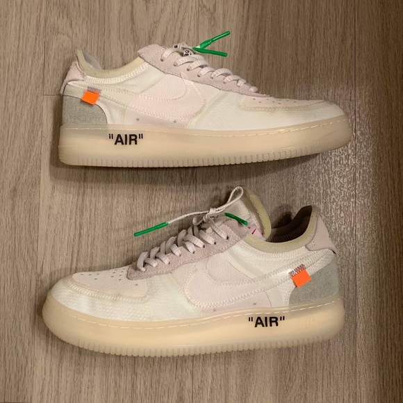 x Off White The 10: Nike Air Force 1 Low